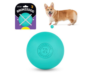 Іграшка для собак BRONZEDOG SUPERBALL 6 СМ ГОЛУБИЙ SB62/Т