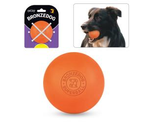 Іграшка для собак BRONZEDOG SUPERBALL 6 СМ ПОМАРАНЧЕВИЙ SB64/Т