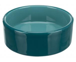Керамічна миска бірюзового кольору, обсяг 0,3 л / 12 см Trixie 24365