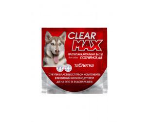 Таблетка від бліх,кліщів та глистів Clear Max.№1,1 г