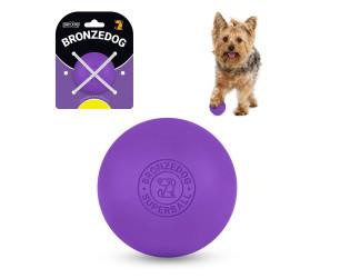 Іграшка для собак BRONZEDOG SUPERBALL 5 СМ ФІОЛЕТОВИЙ SB59/Т